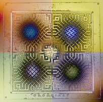 SQUARE art 1892 by oboudiart