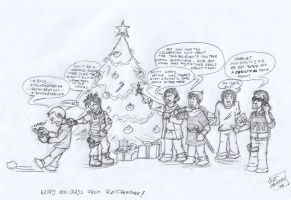 SGA-Merlin-N3: Happy Holidays by ratcreature