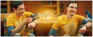 Sheldon and Lovey Dovey Signature by ManonGG