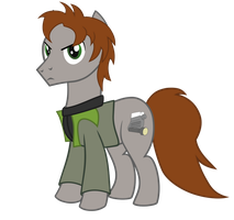 Pony Alan Wake vector by DolphinFox