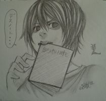 L Lawliet by Shmell0w
