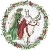 Happy Yuletide by Jillian by Odins-Girl