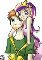 Tim and Cadance by Tao-mell