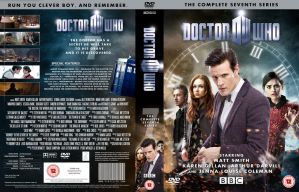 DOCTOR WHO SERIES 7b DVD COVER **UPDATED** by MrPacinoHead