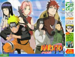 Naruto Shippuuden Desktop by Angel-usagi