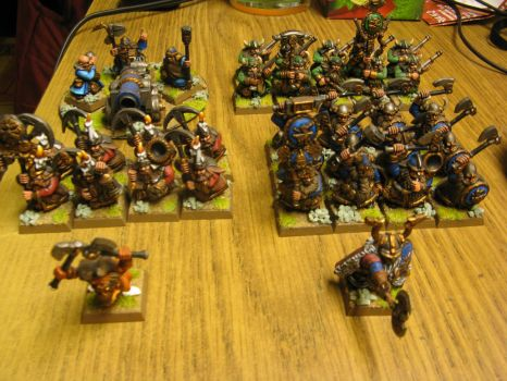 Battle for the Skull Pass Dwarf Army Pic 1 by Arival