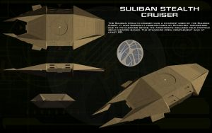 Suliban Stealth Cruiser ortho by unusualsuspex