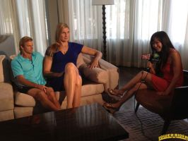 Gabby Reece on couch by lowerrider