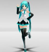 Appearance Miku XX MMD dowload by Reon046