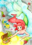 Treasure hunting under the sea by Kuraiko-kyun