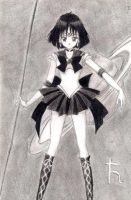 +.Sailor Saturno.+ by macky-thedemon