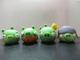 Fondant Bad Piggies by Leara