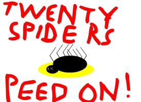 ACCOMPLISHMENTS- 20 SPIDERS by alextrebek