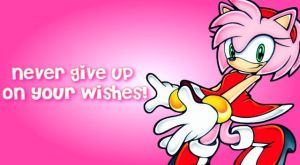 Never Give Up On Wishes - Amy (wallpaper) by animorphs5678
