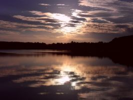 Lake Reflections 7 by petesquirrels