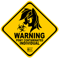 Pony Contaminated Individual by wolfjedisamuel
