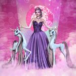 The Unicorn Princess by RavenMoonDesigns
