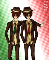 APH - The Italy Brothers by saflam