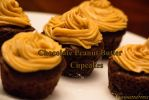 Mini Chocolate Peanut Butter Cupcakes by Cassandrina