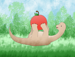 Apples and Dinosaurs by saresare93