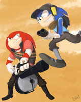 Team Sonic Boom by CWiet