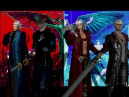 The Sons of Sparda: Two Worlds, same Fate by Dantefreak