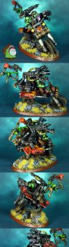 Space Orks Wazzdakka Gutzmek Evil Suns Speed Freak by HomeOfCadaver