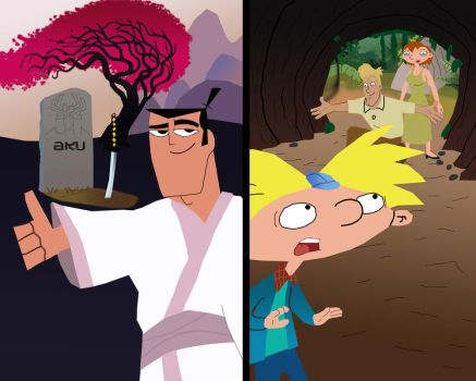The Endings of Samurai Jack and Hey Arnold by AndrewSS23