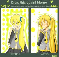 Draw again meme by Leenh