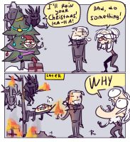 The Witcher 3, doodles 175 by Ayej