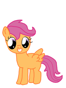 Scootaloo by tizzle73