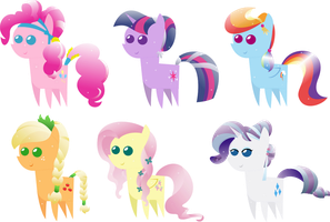 Pony pack 4 by Zacatron94