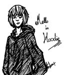 Death Note - Mello in hoodie by andersss