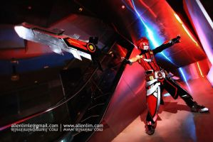 Elsword Online - Sheath Knight Cosplay by chowpohken