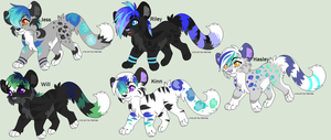 Shawn and Rik's cubs by Kainaa