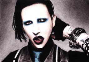 Marilyn Manson by trance-syn