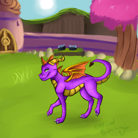 "Spyro - a heros tail ""Dragon village"" by Misspic"