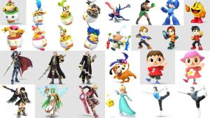 Super Smash Bros. Newcomers by UKD-DAWG