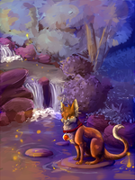 My Side of the Forest WIP by Lyraeli