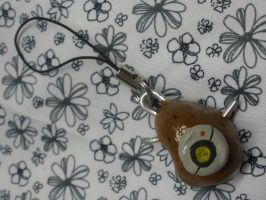 GLaDOS Potato Keychain by GlacideaDay