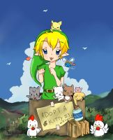 Adopt Kitty Link...or a Cucco Perhaps?? by Deku-Scrub