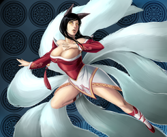 Ahri by Ulsae