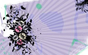 Floral Grunge Background by Sethly