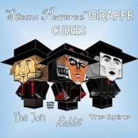 Steam Powered Giraffe Cubees by SilverDrgnbane
