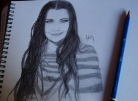 Amy Lee's Portrait by Mazrak18