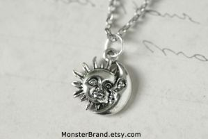 Celestial Necklace by MonsterBrandCrafts