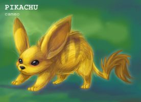 Real Pikachu by Cameo-Chan