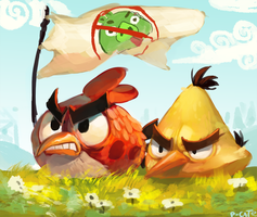 angryberds by P-cate