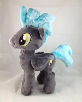MLP: FiM Thunderlane Plush by LiLMoon
