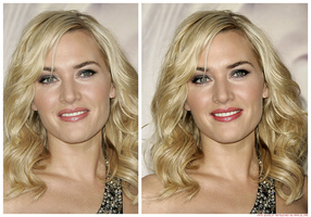 Retouch Kate Winslet by theskyinside